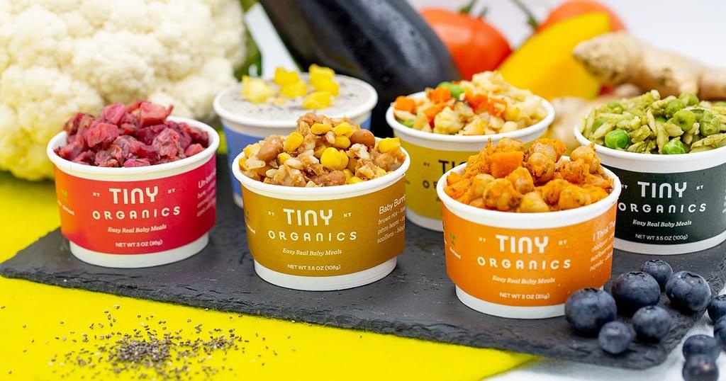 Tiny Organics baby food featured image