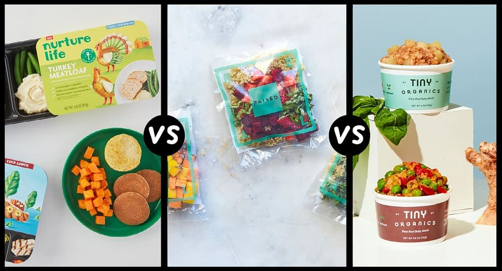 helping you choose tiny organics, raised real or nurture life baby food