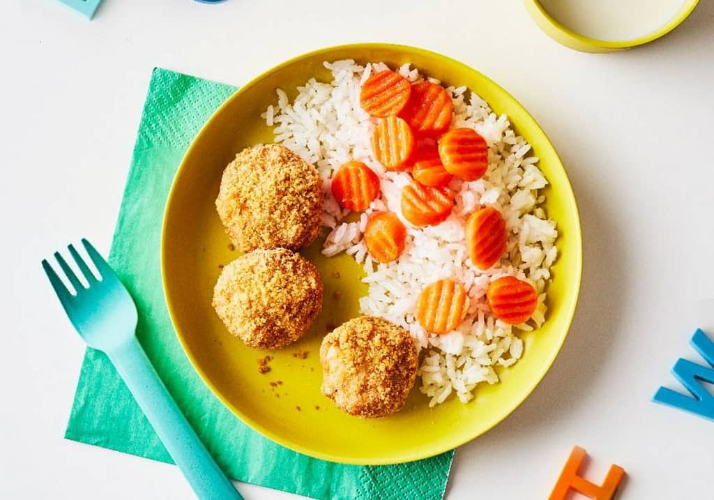healthy meal for kids on yumble's menu
