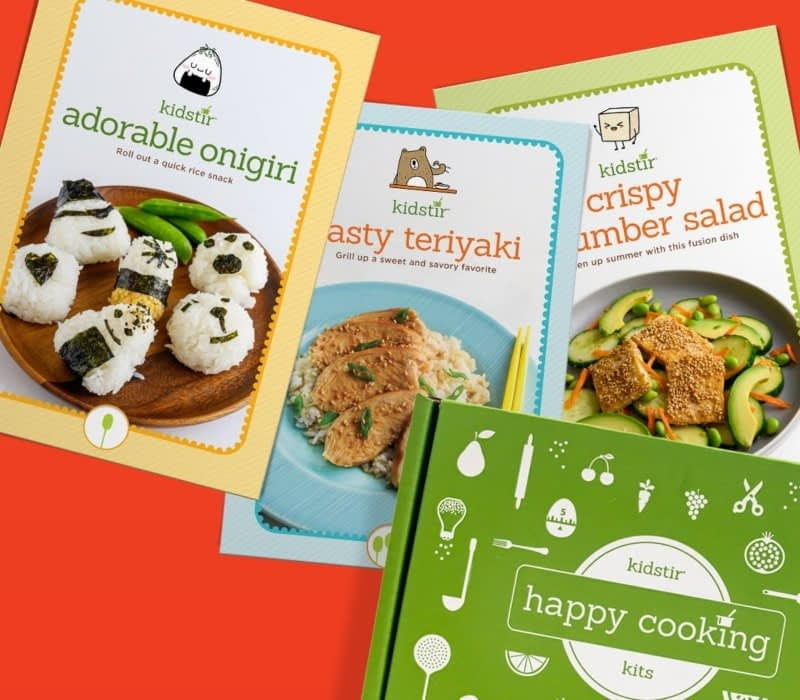 happy cooking for kids (KidStir's promise)