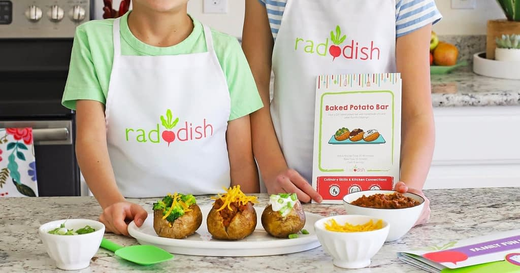 featured image for Raddish Kids Cooking Subscription Kit review