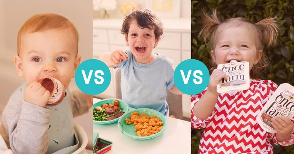 comparing 3 baby food meal delivery services side by side